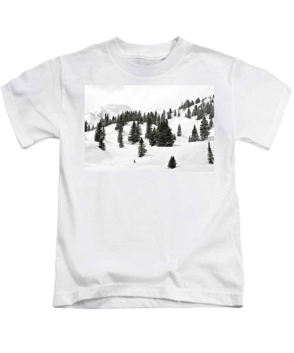 Rolling Hills Kids T-Shirt featuring the photograph Rolling Hills by Marilyn Hunt