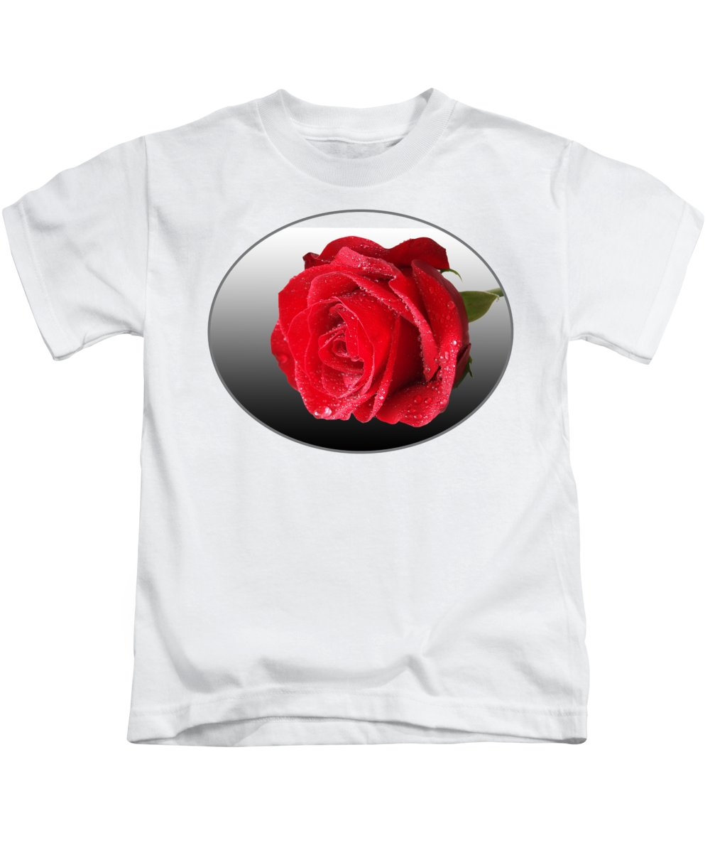 Rose Kids T-Shirt featuring the photograph Romantic Rose by Gill Billington