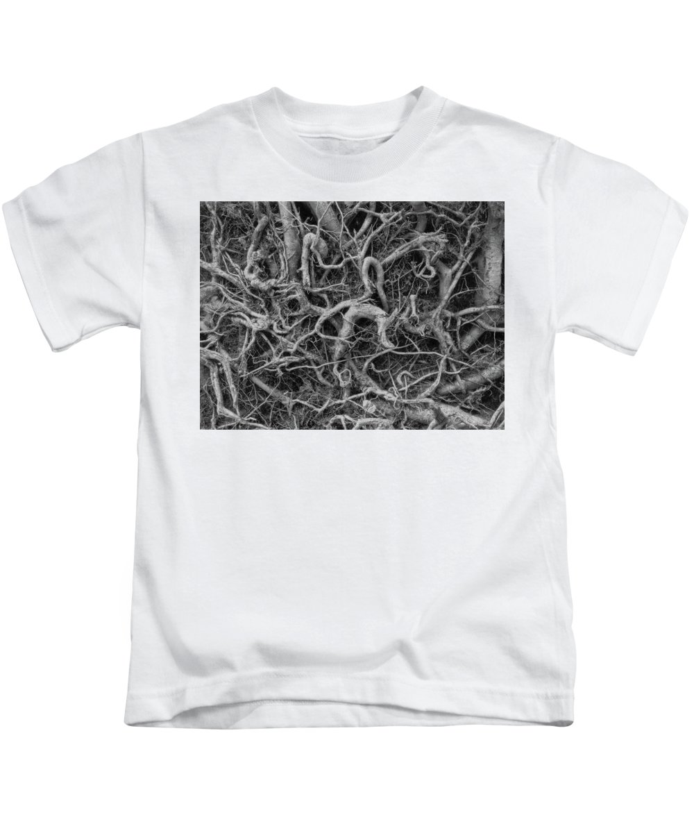 Kids T-Shirt featuring the photograph Roots by Iain Duncan