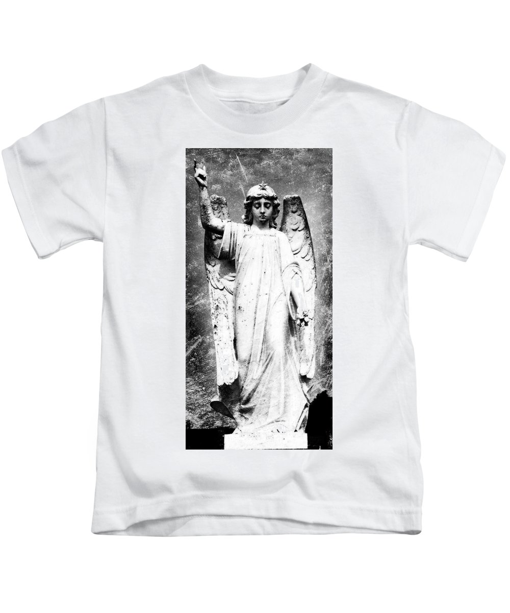 Roscommon Kids T-Shirt featuring the photograph Roscommon Angel No 2 by Teresa Mucha