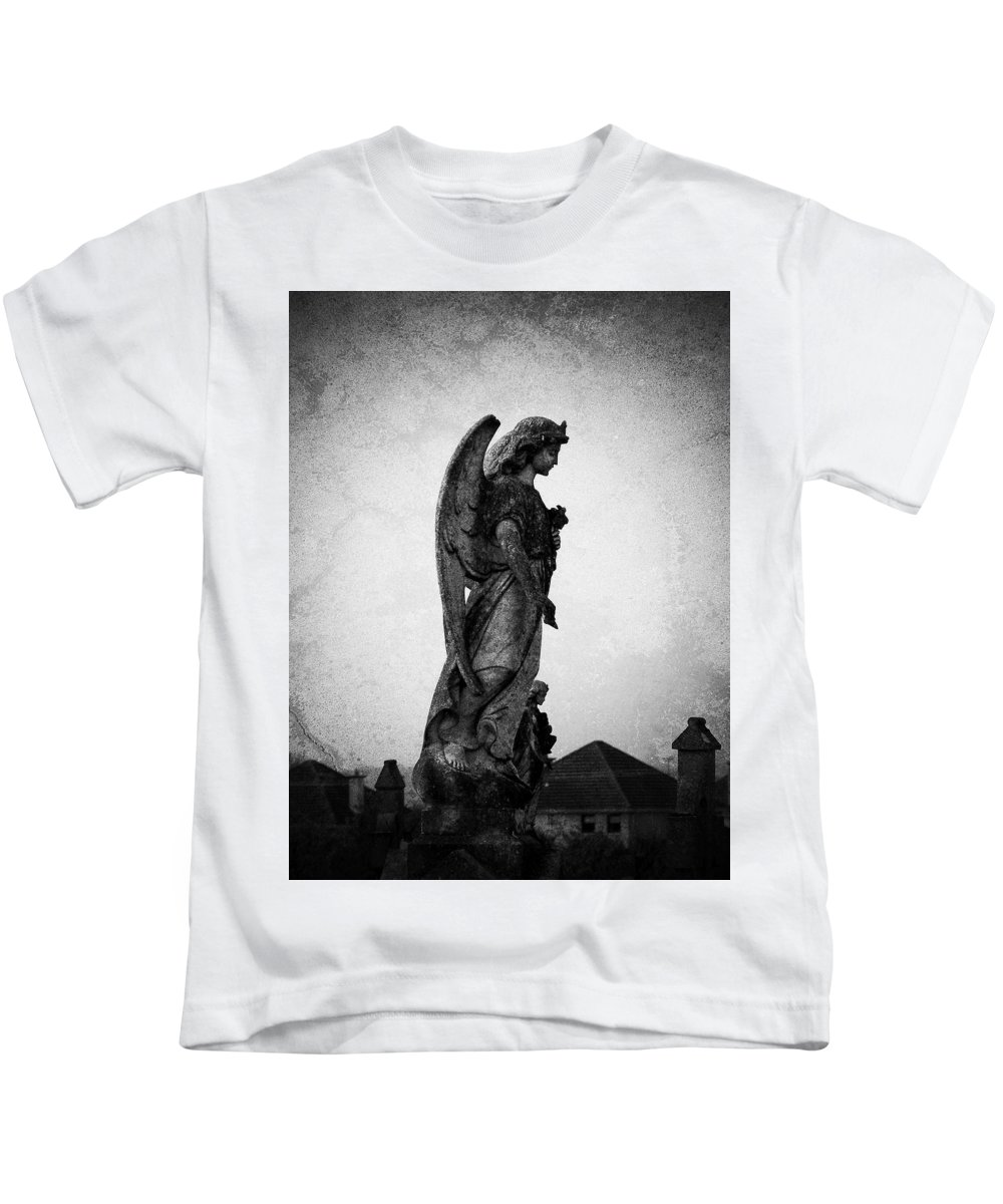 Roscommon Kids T-Shirt featuring the photograph Roscommonn Angel No 4 by Teresa Mucha
