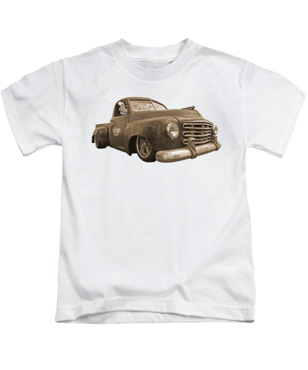 Sepia Tone Photographs Kids T-Shirts