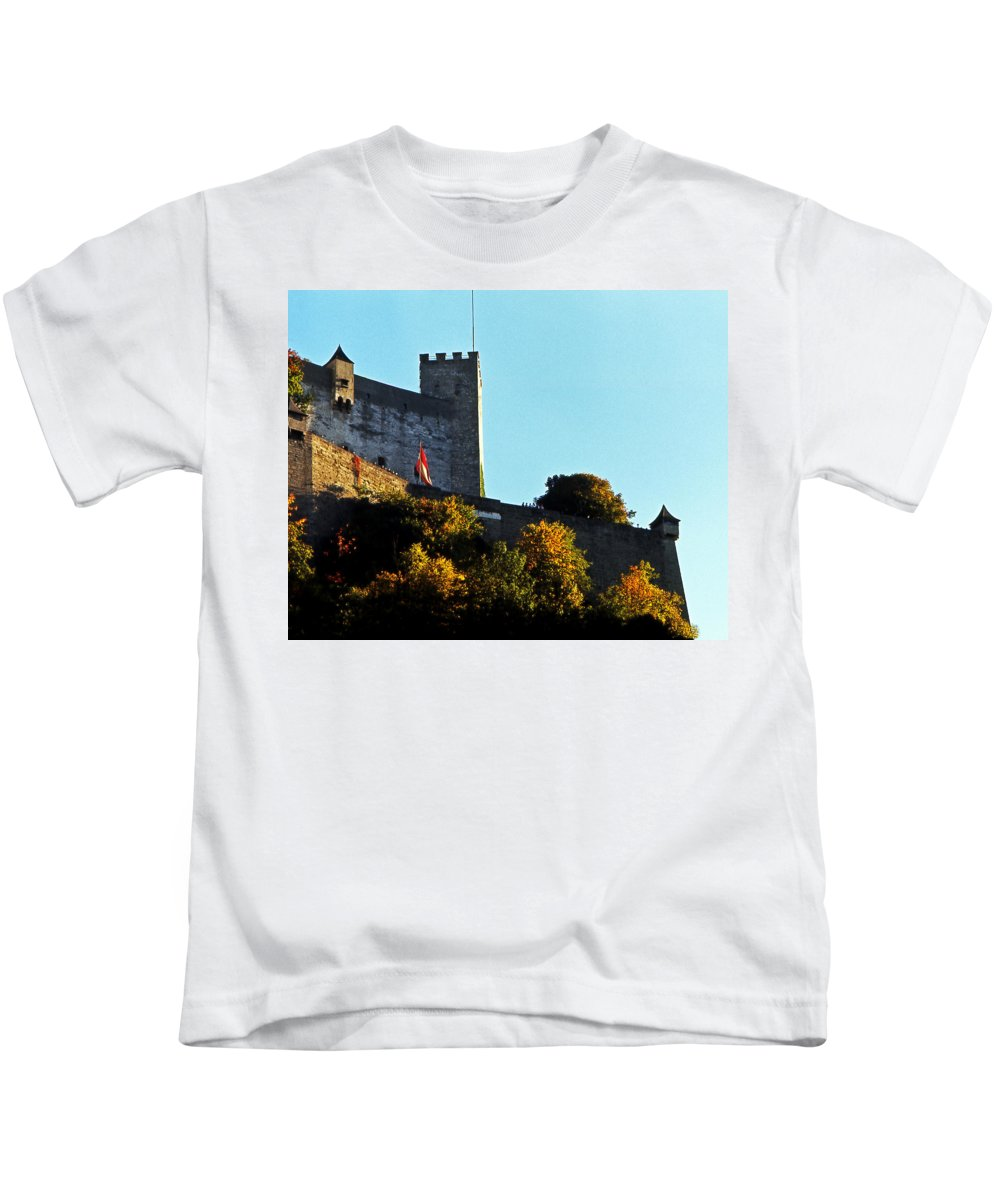 Europe Kids T-Shirt featuring the photograph Salzburg Austria 4 by Lee Santa