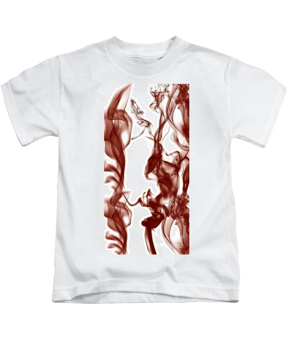 Clay Kids T-Shirt featuring the digital art Schizophrenia by Clayton Bruster