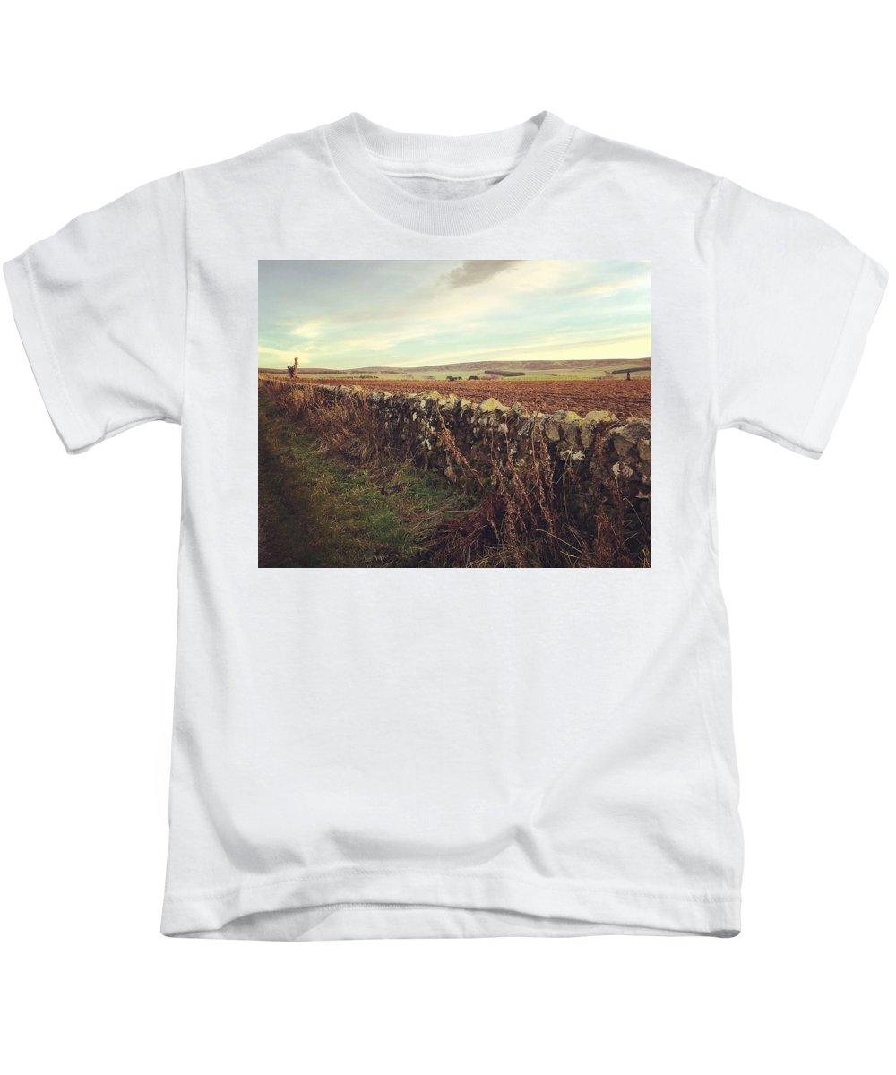 Landscape Kids T-Shirt featuring the photograph Scotland Uk by Jennifer Cairney