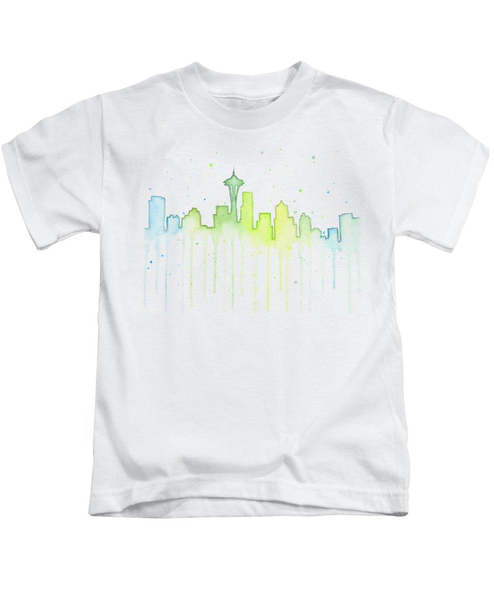 Space Needle Kids T-Shirts