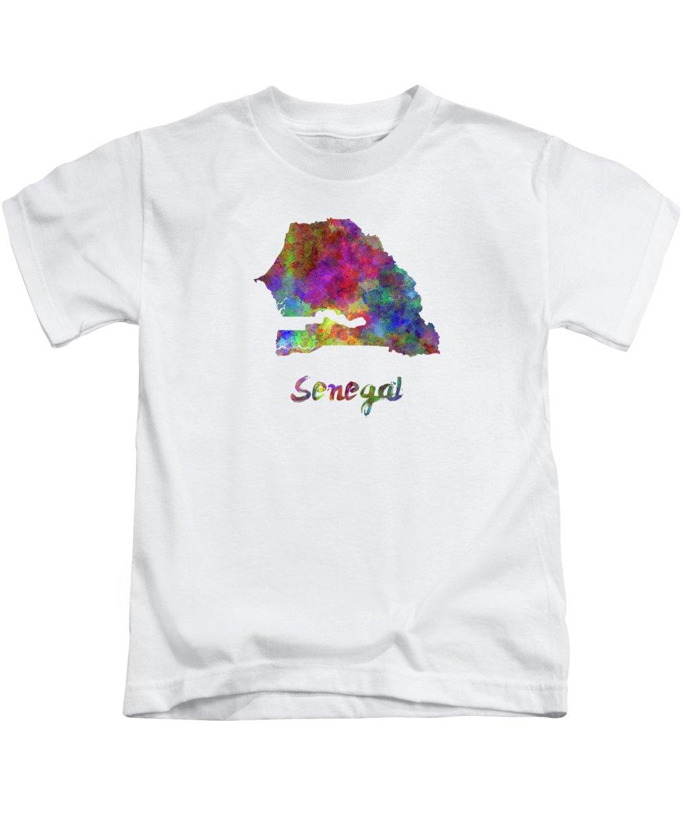 Senegal Kids T-Shirts
