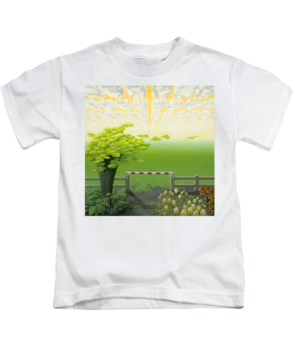 Tree Kids T-Shirt featuring the painting September by Patricia Van Lubeck