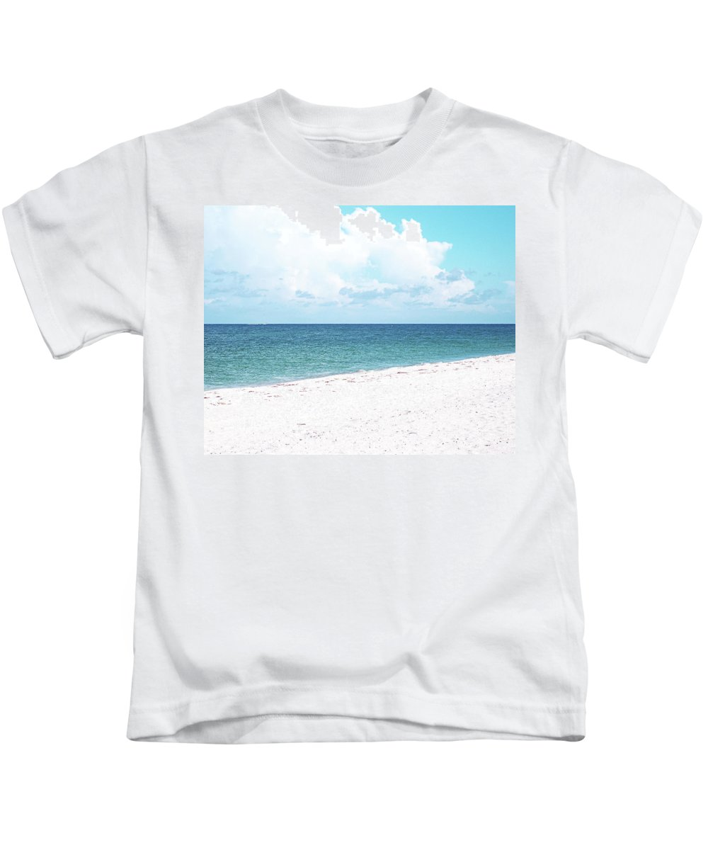 Florida Kids T-Shirt featuring the photograph Serenity Gp by Chris Andruskiewicz