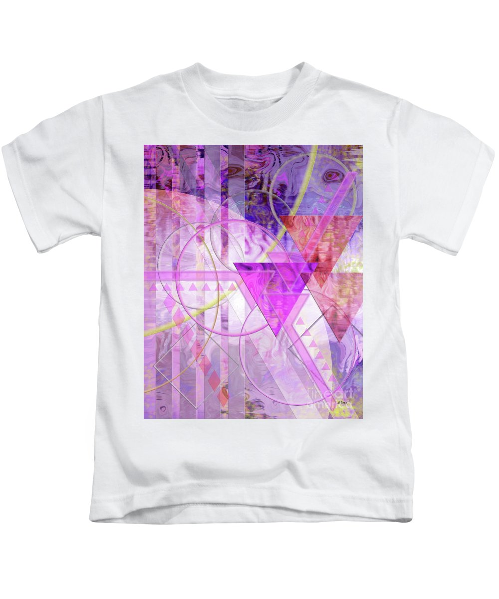 Shibumi Kids T-Shirt featuring the digital art Shibumi Spirit by John Beck