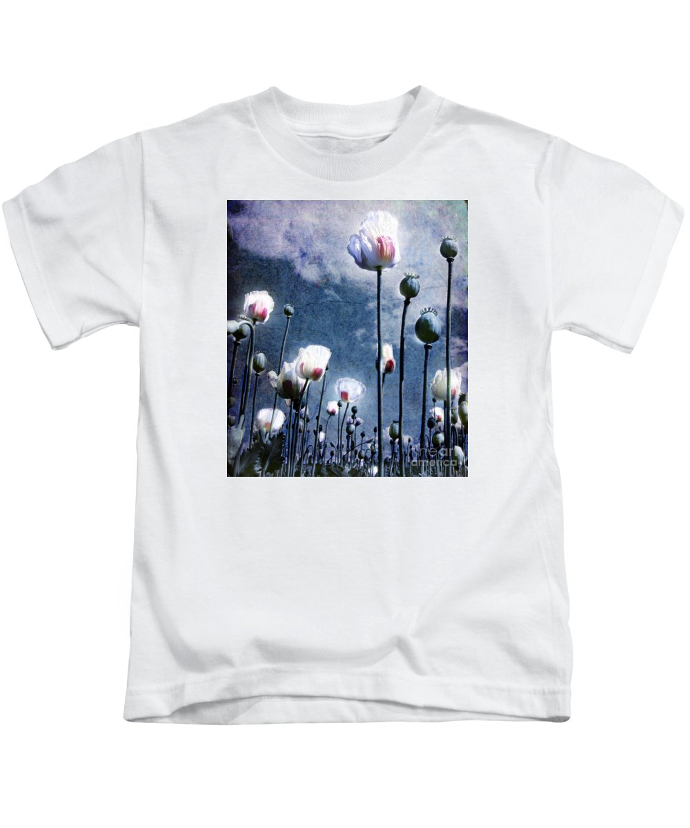 Flowers Kids T-Shirt featuring the photograph Shine Through by Jacky Gerritsen