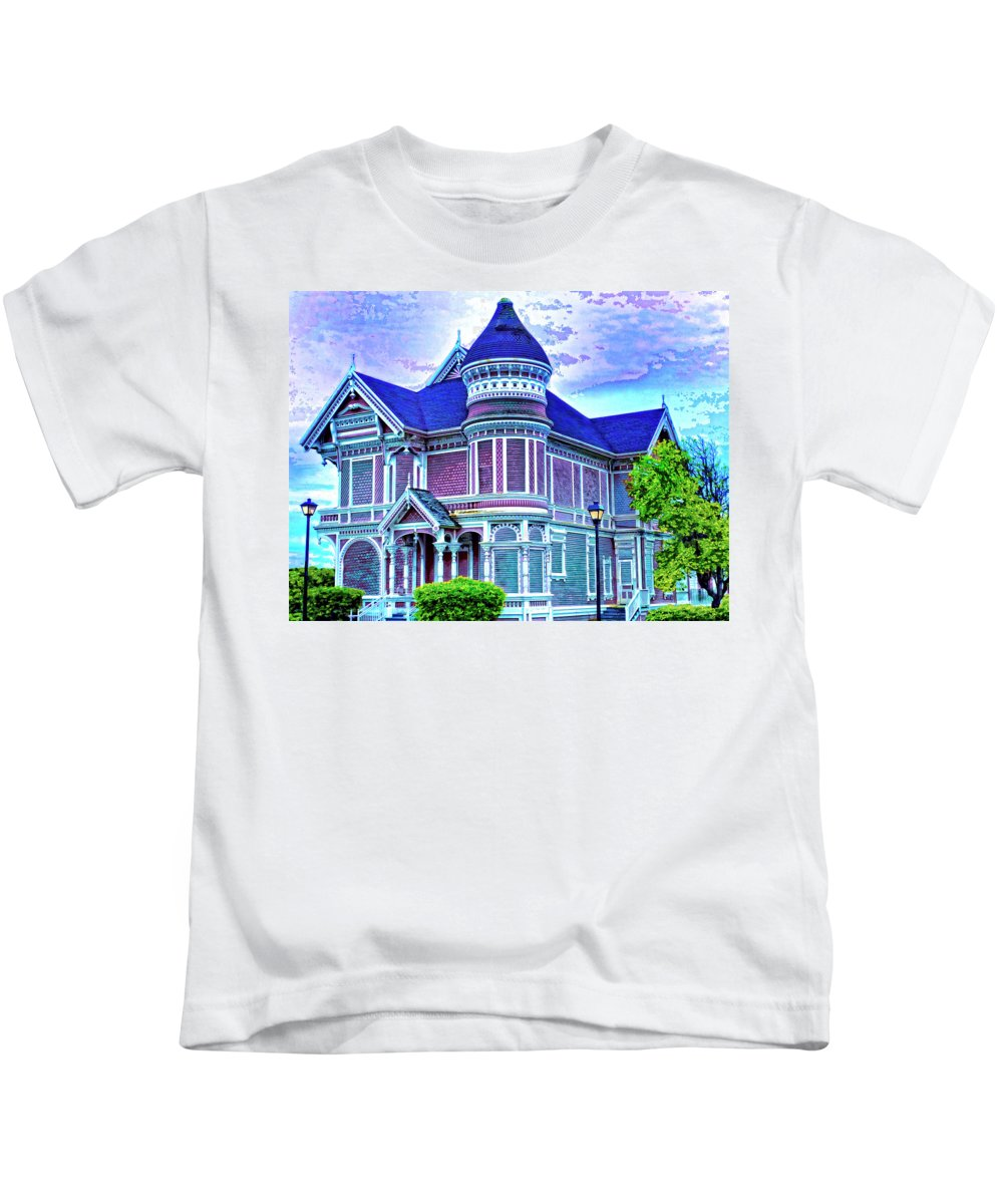 Silent Witness Kids T-Shirt featuring the mixed media Silent Witness by Dominic Piperata