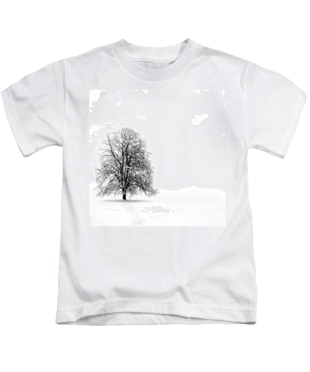 Landscape Kids T-Shirt featuring the photograph Silenzio by Jacky Gerritsen