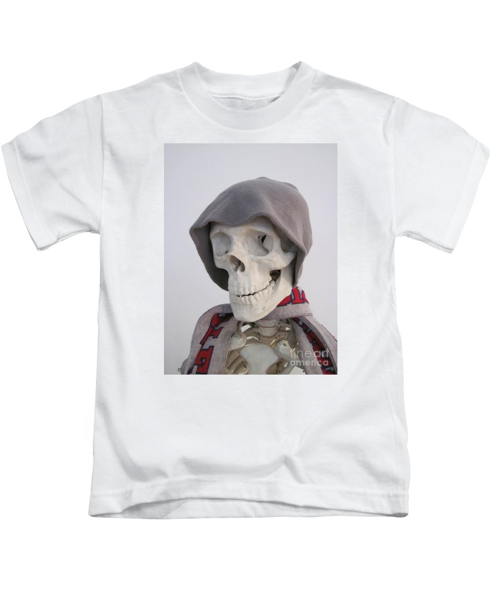 Witchcraft Kids T-Shirt featuring the digital art Skeleton by Frederick Holiday