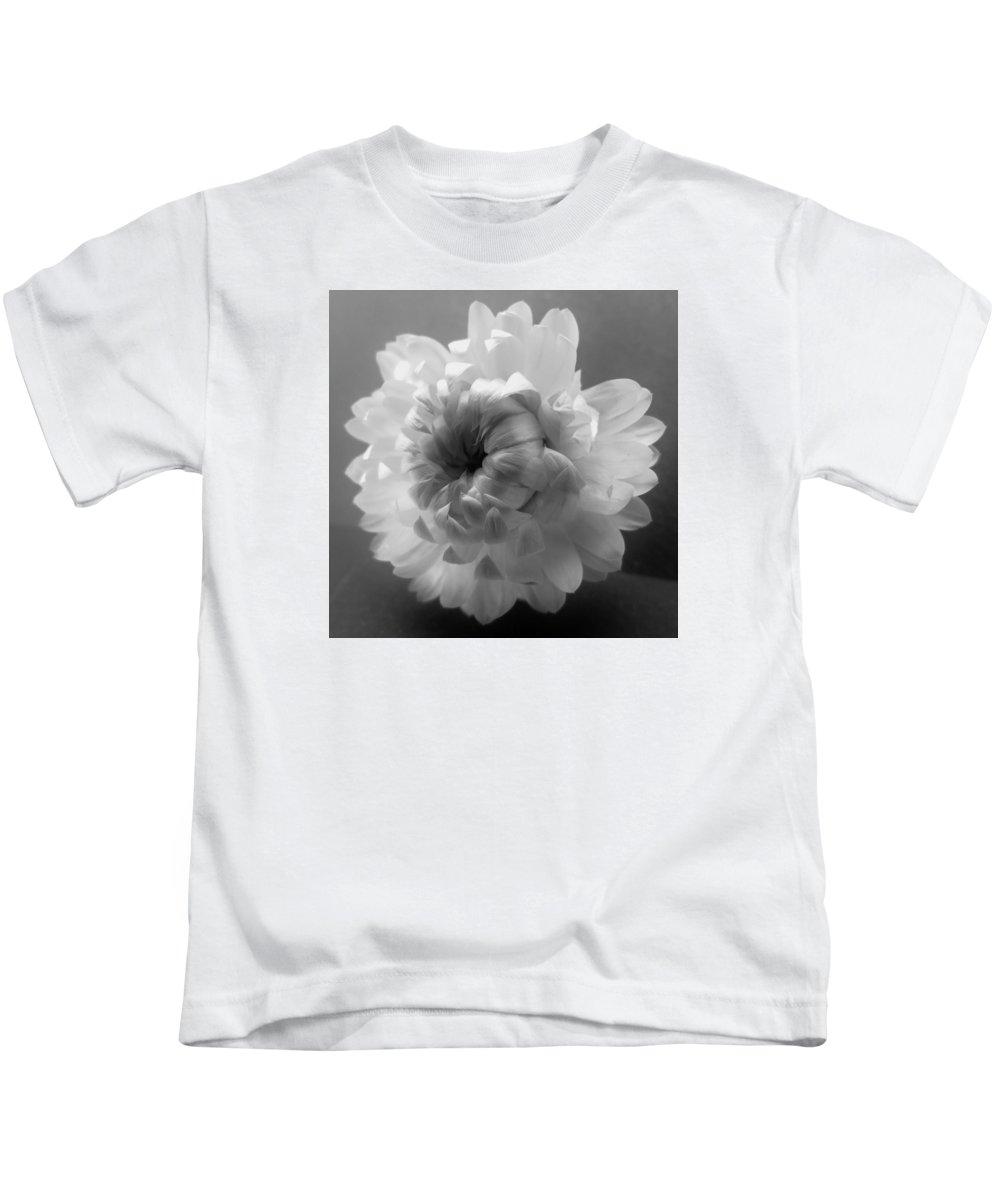 Black Kids T-Shirt featuring the photograph Softly Romantic by Barbara St Jean