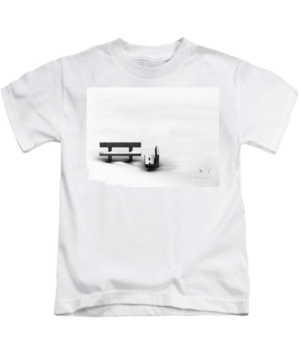 Black Kids T-Shirt featuring the photograph Someone To Hear You When You Sigh by Dana DiPasquale