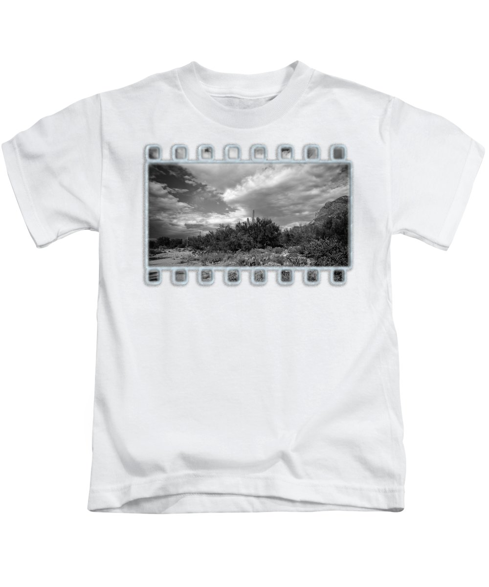 Arizona Kids T-Shirt featuring the photograph Sonoran Afternoon H10 by Mark Myhaver