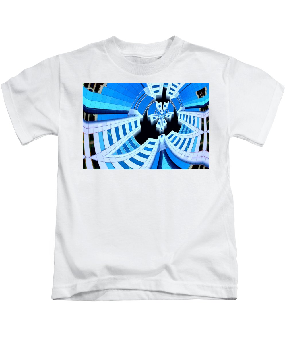 Photography Kids T-Shirt featuring the photograph Spaced by Paul Wear