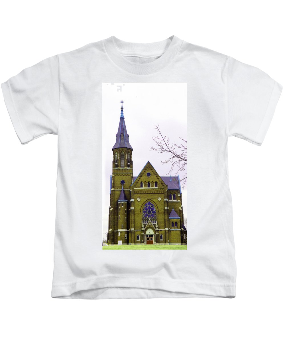 Spire Kids T-Shirt featuring the photograph Spire by Albert Stewart