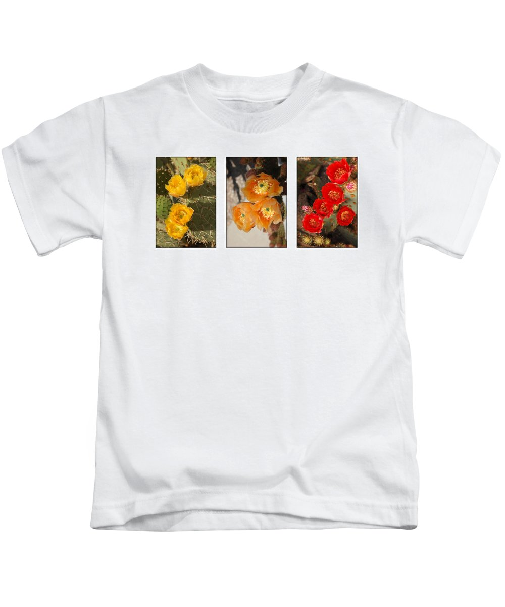 Arizona Kids T-Shirt featuring the photograph Spring - Desert Style by Jill Reger