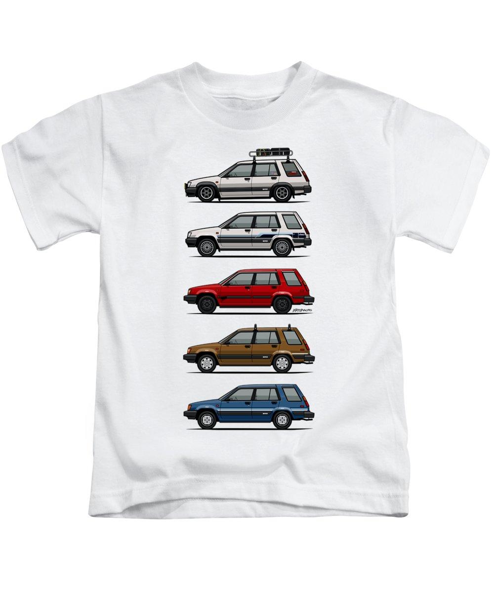 California Brown Pelican Kids T-Shirts
