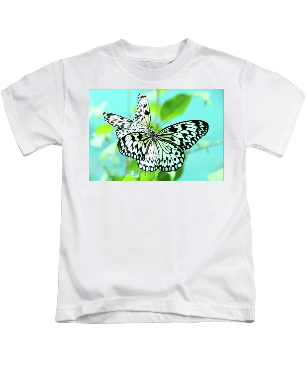 Jenny Rainbow Fine Art Photography Kids T-Shirt featuring the photograph Star Crossed Lovers. Japanese Poetry by Jenny Rainbow
