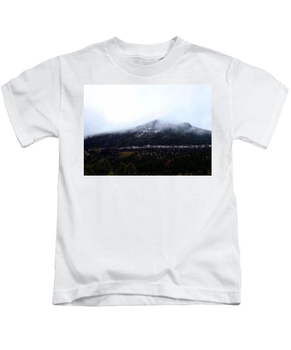 Mountain Kids T-Shirt featuring the photograph Start Of The Rockies by Sarah Houser