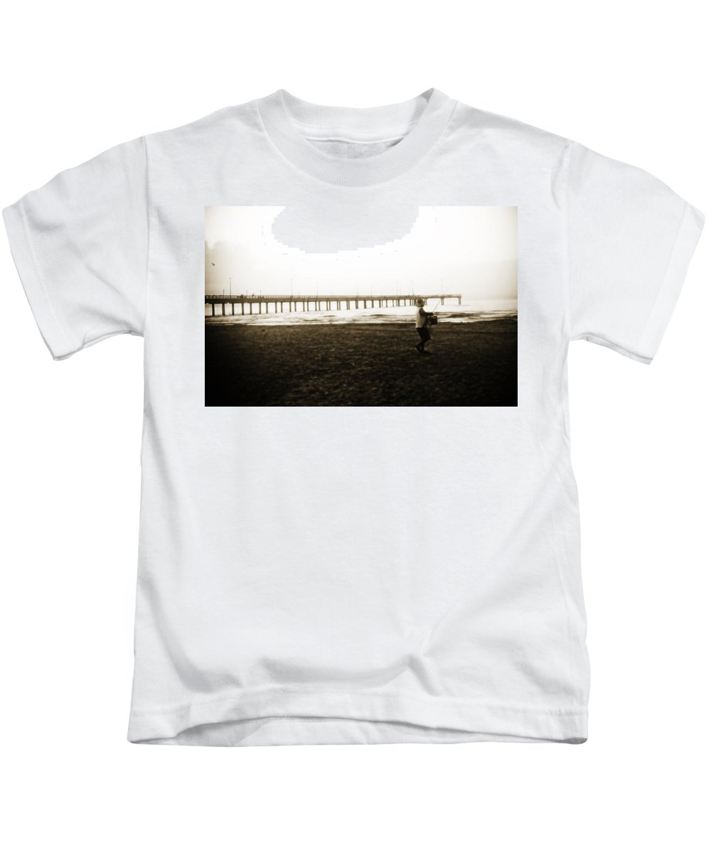 Fish Kids T-Shirt featuring the photograph Starting Early by Marilyn Hunt