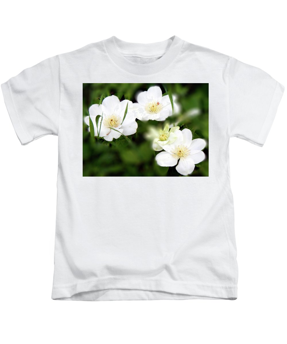 Spring Kids T-Shirt featuring the photograph Stirrings by Wild Thing