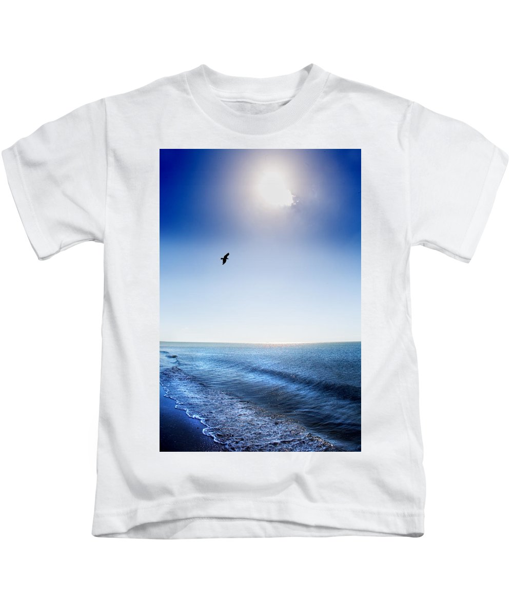 Sun Kids T-Shirt featuring the photograph Sun Shade by Mal Bray