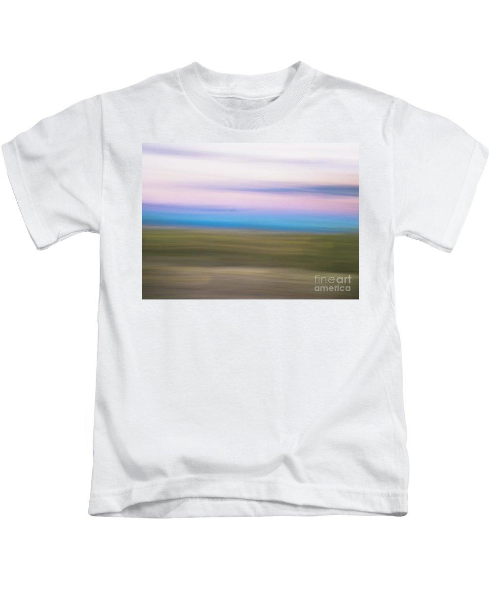 Natanson Kids T-Shirt featuring the photograph Sunset Cerrillos by Steven Natanson