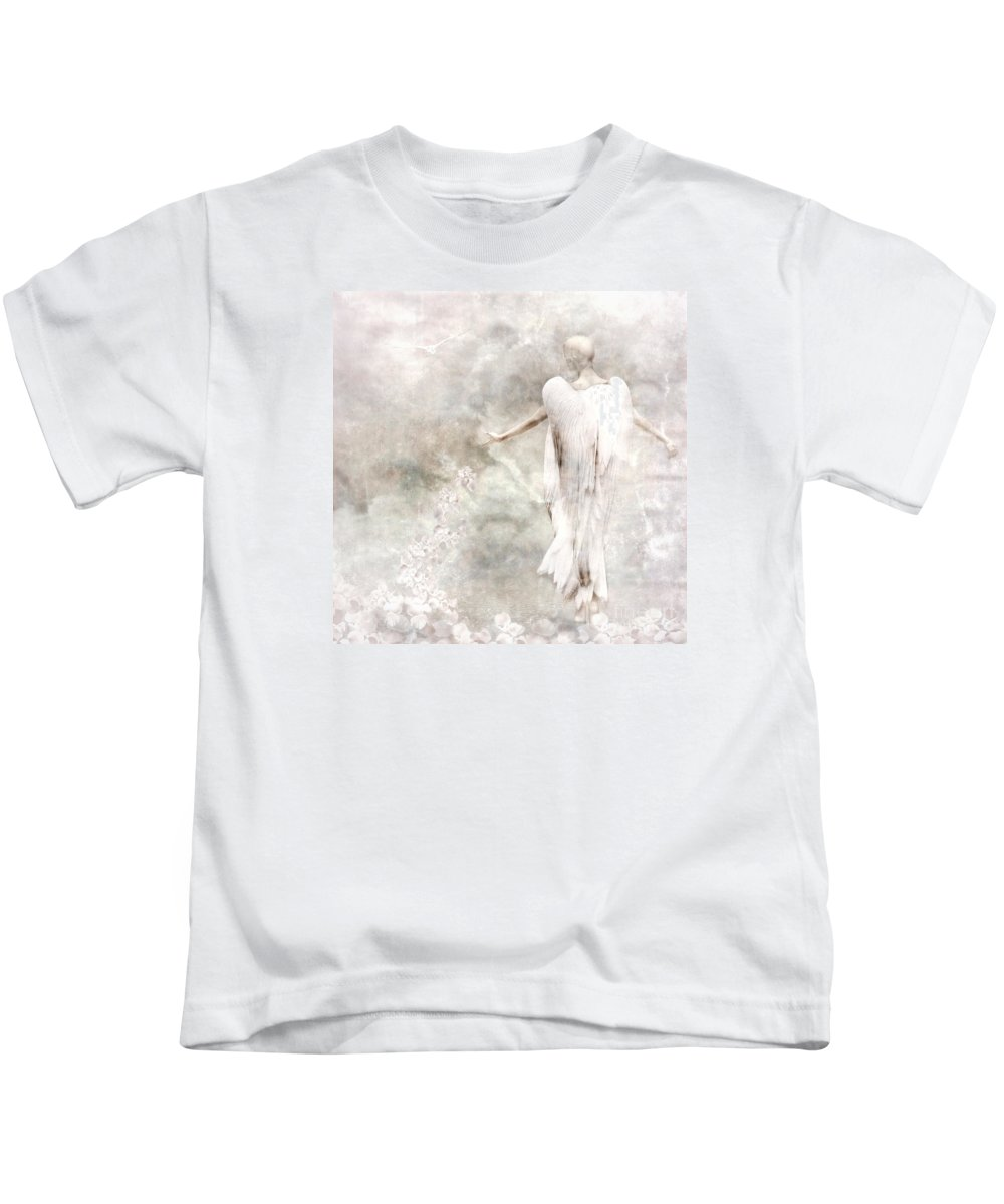 Photodream Kids T-Shirt featuring the digital art Take Me Home by Jacky Gerritsen