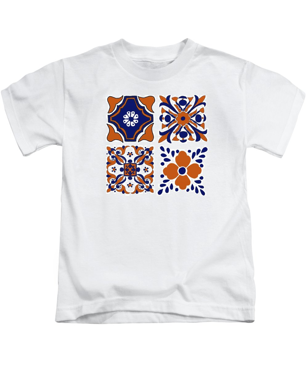 Terracota Kids T-Shirt featuring the digital art Terracota by Priscilla Wolfe