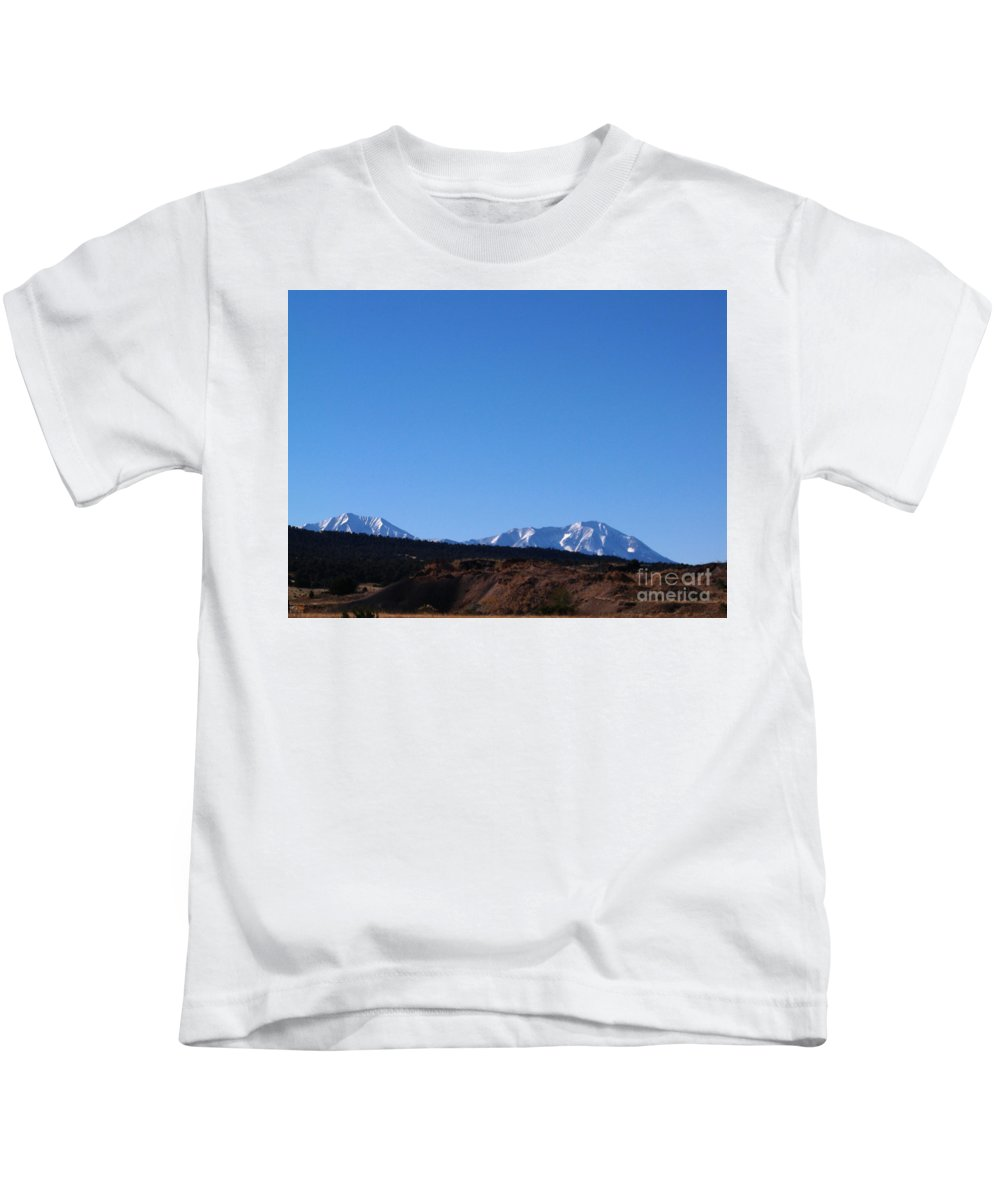 Kids T-Shirt featuring the photograph The Beautiful Rockies by Kelly Awad