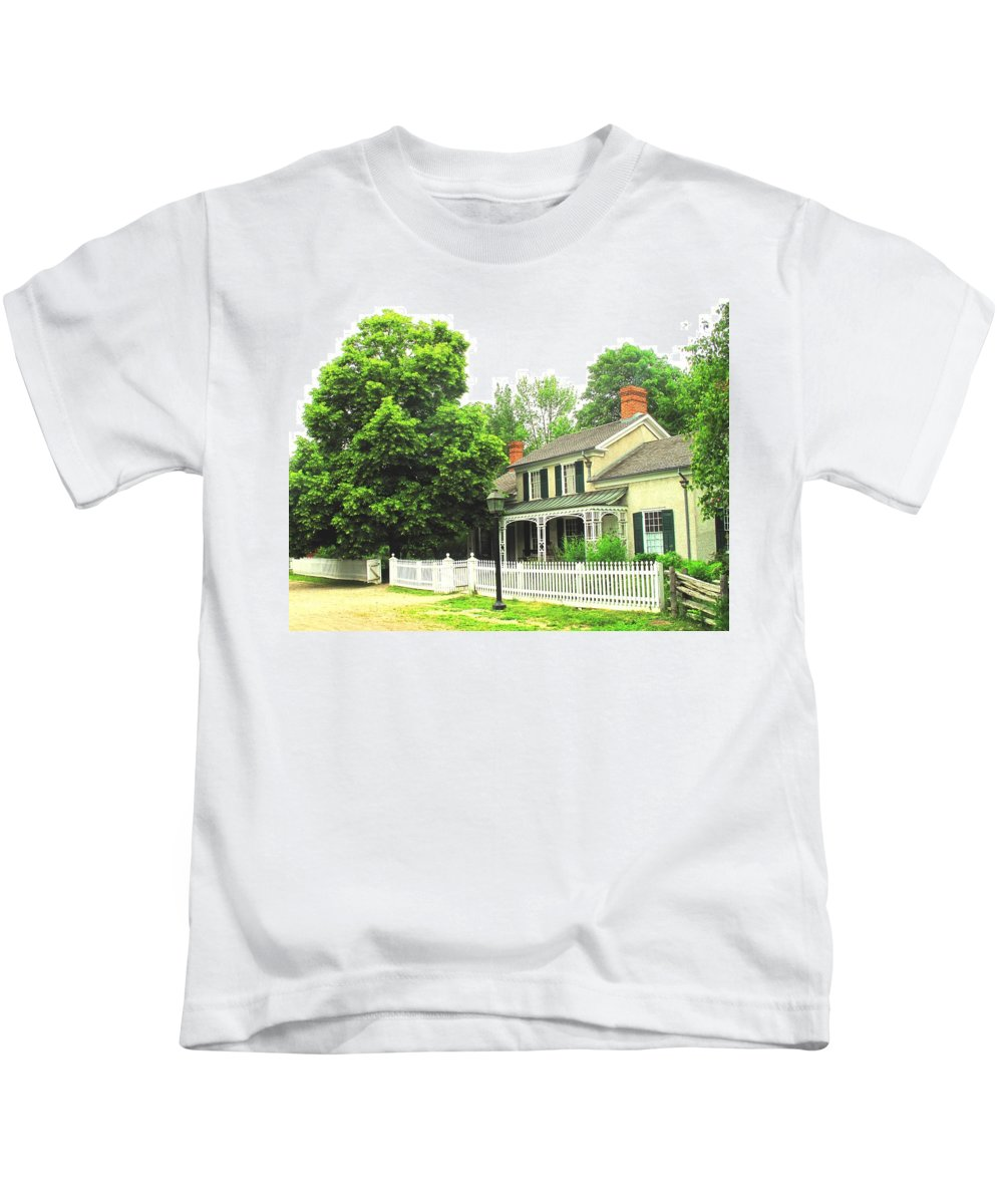 Doctor Kids T-Shirt featuring the photograph The Doctors House by Ian MacDonald