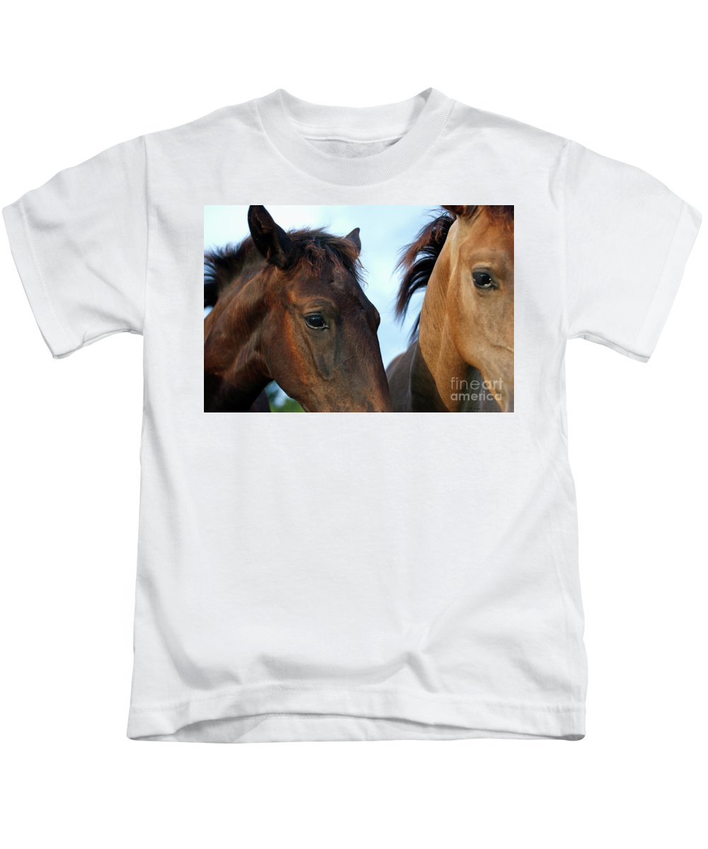 Andalusian Kids T-Shirt featuring the photograph The Eyes by Francine Hall