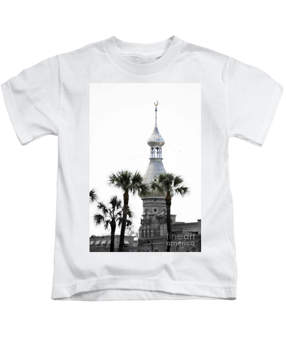 Moorish Architecture Kids T-Shirt featuring the photograph The Silver by Jost Houk