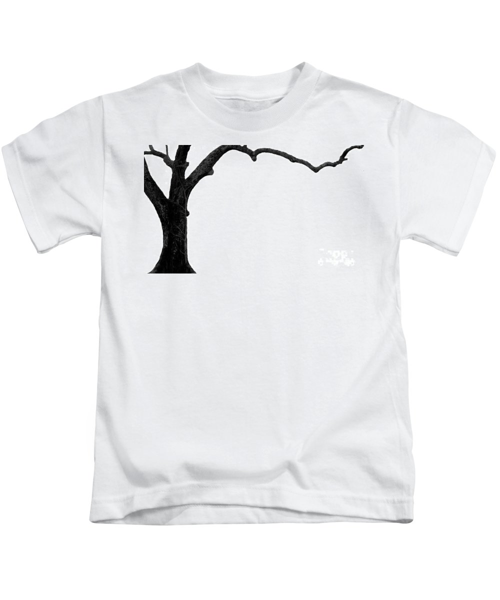 Tree Kids T-Shirt featuring the photograph The Tree by Amanda Barcon