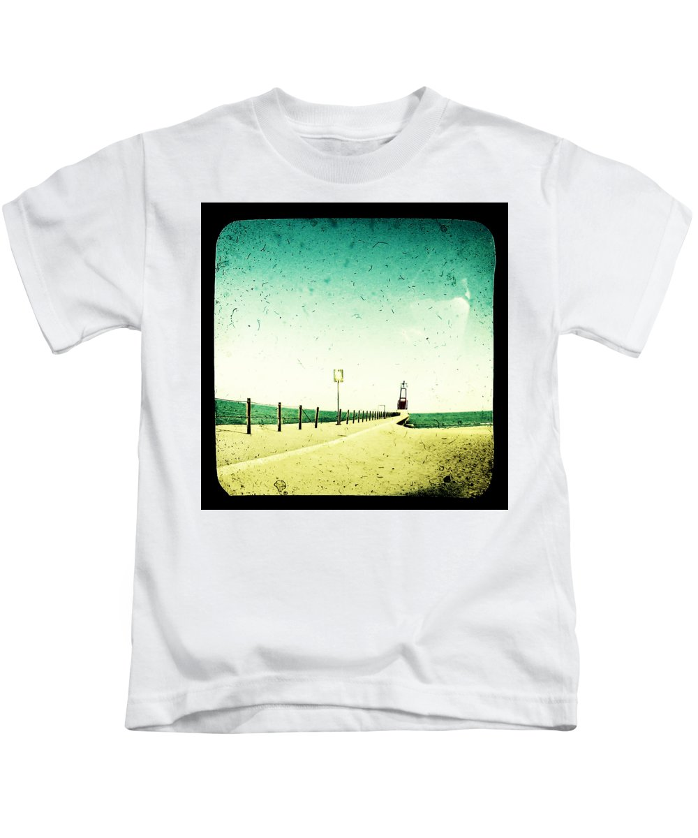Beach Kids T-Shirt featuring the photograph These Days Are Gone by Dana DiPasquale