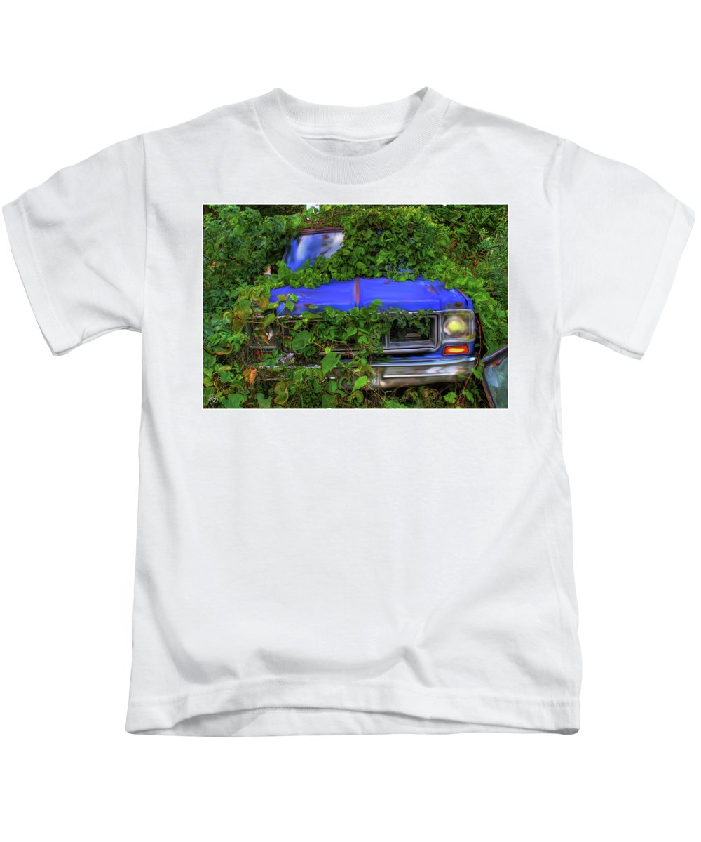 Weeds Kids T-Shirt featuring the photograph Those Pesky Weeds by Wayne King
