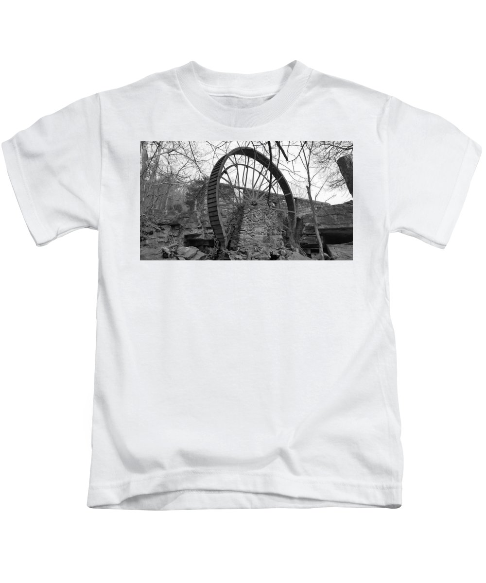 Black Kids T-Shirt featuring the photograph Time by Lori Morrow