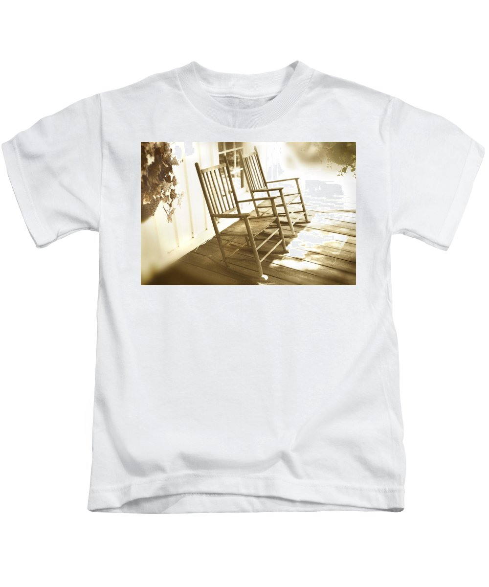 Together Kids T-Shirt featuring the photograph Together by Mal Bray