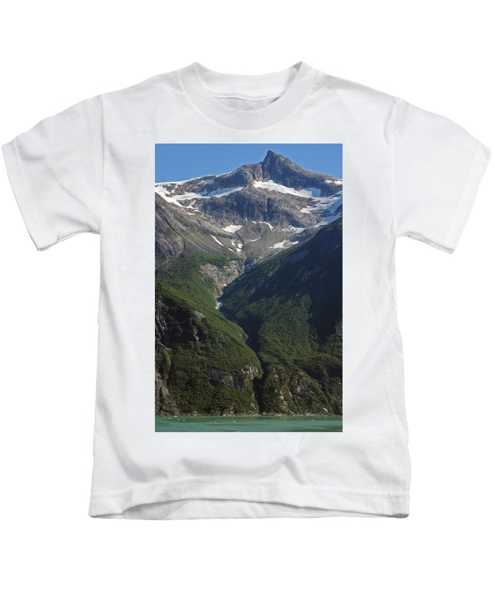 Landscape Kids T-Shirt featuring the photograph Top To Bottom by Maria Keady