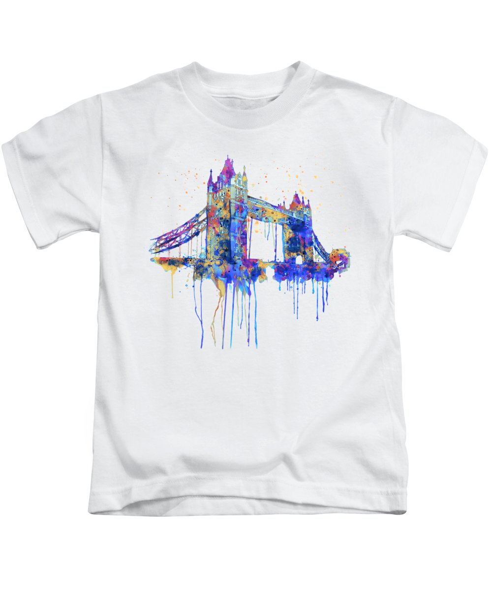 Tower Of London Kids T-Shirts