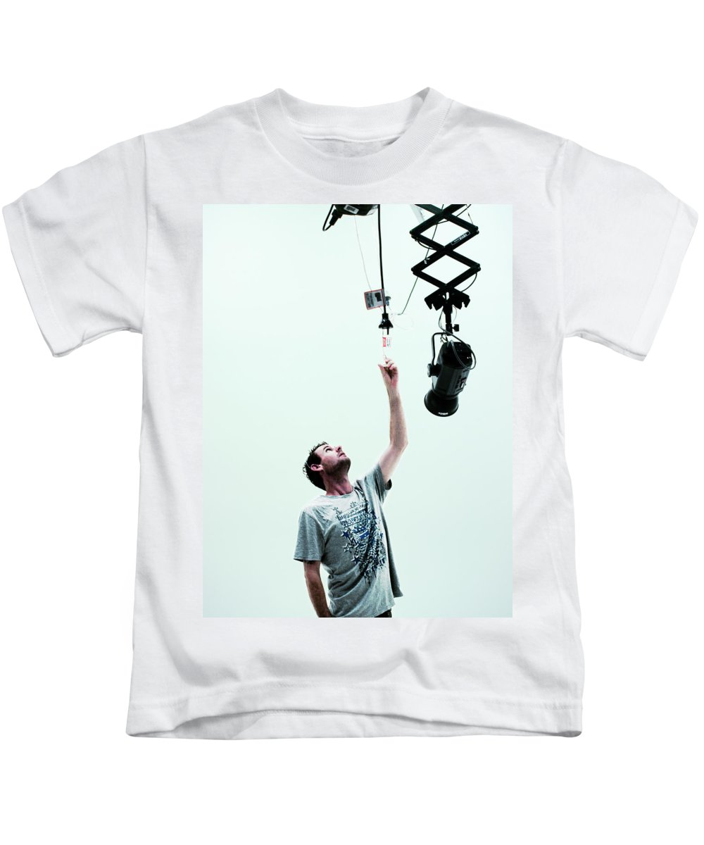 Toy Kids T-Shirt featuring the photograph Toys by Kelly Jade King