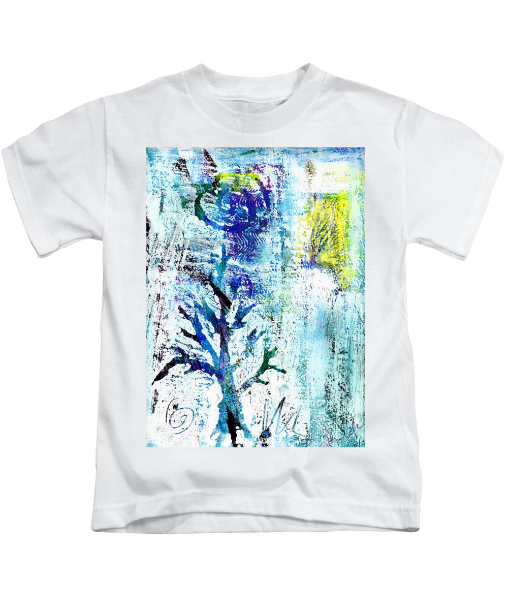 Tree Kids T-Shirt featuring the painting Tree Of Life by Wayne Potrafka