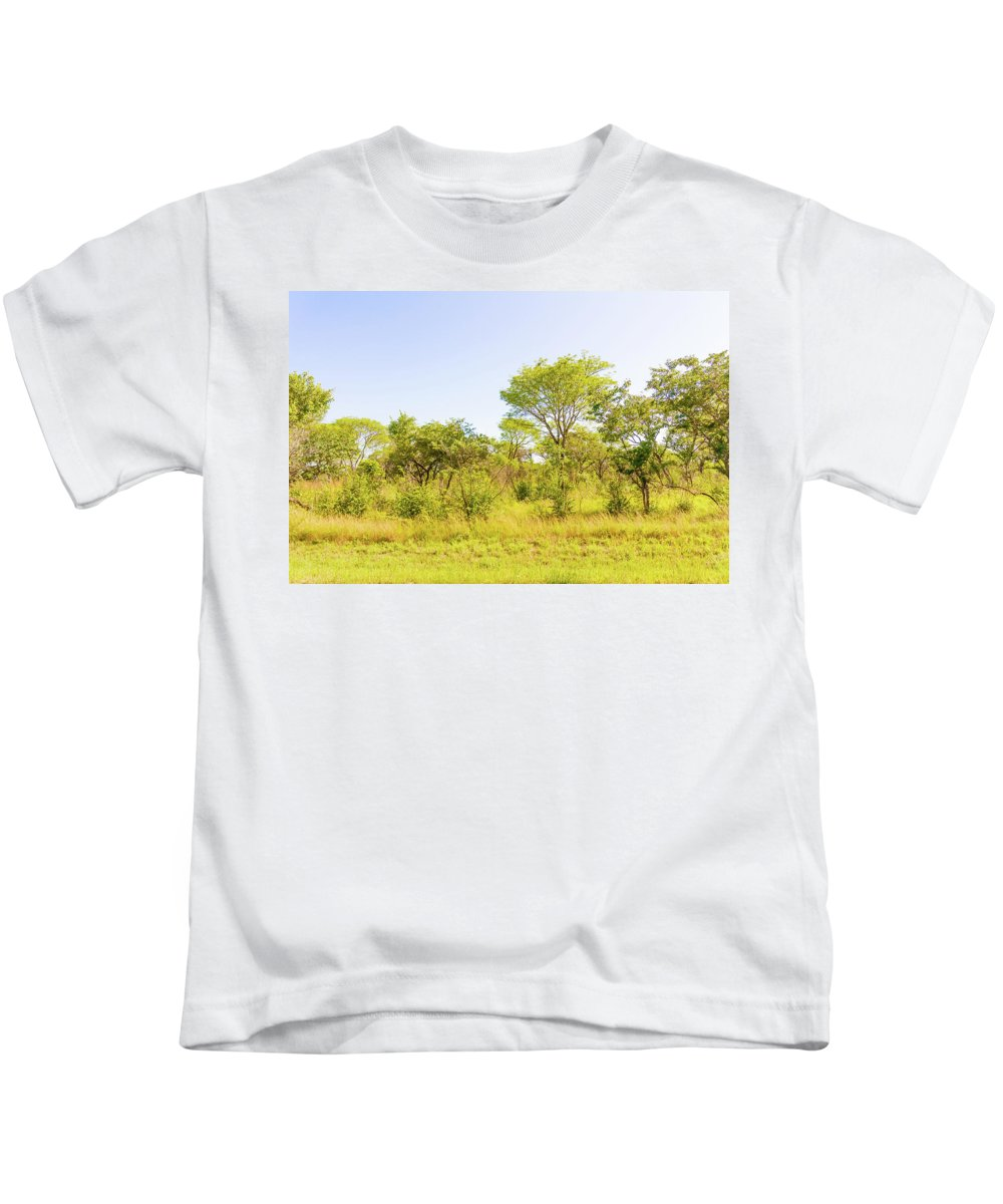 Trees Kids T-Shirt featuring the photograph Trees In Zambia by Marek Poplawski
