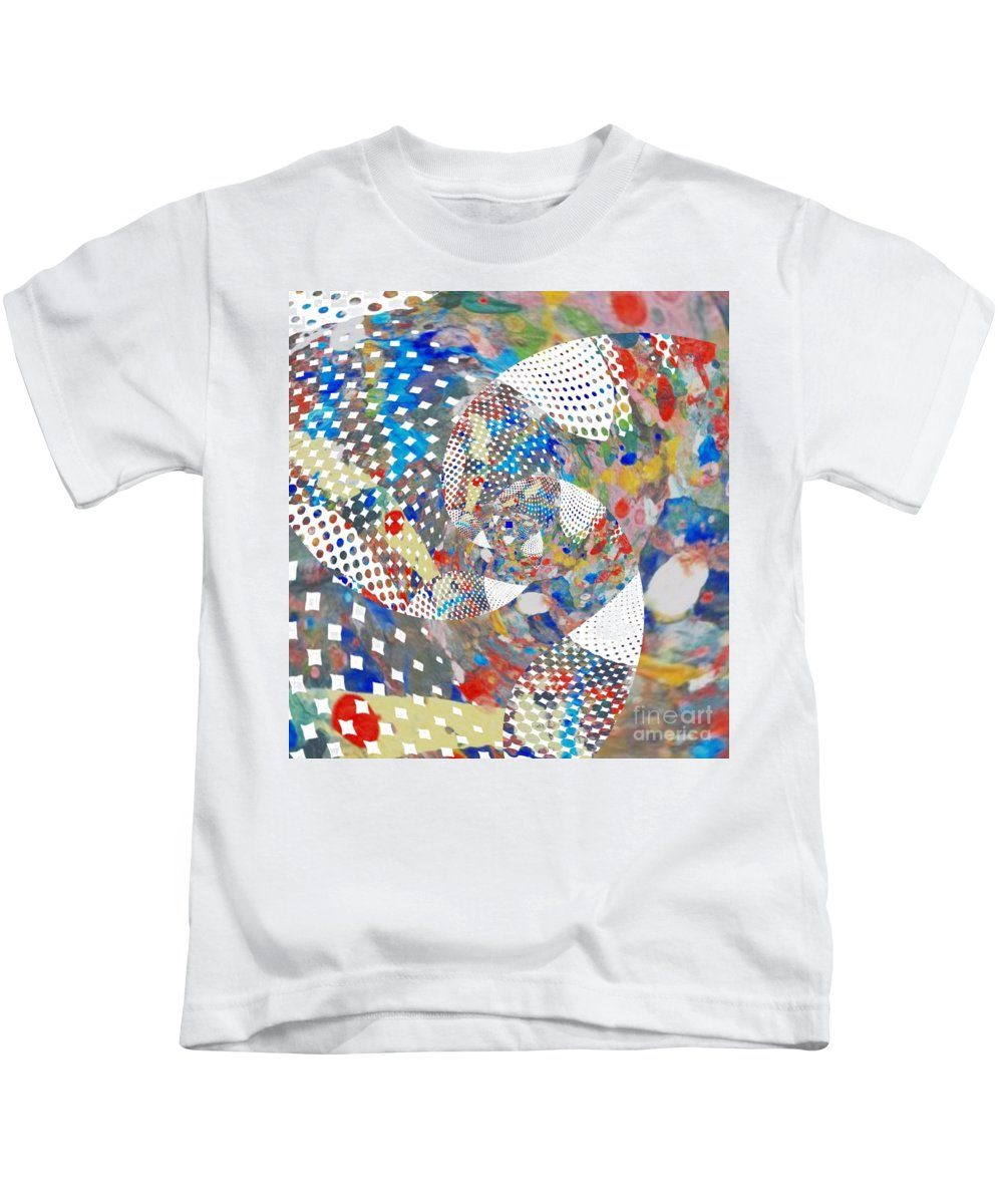 Photo Art Kids T-Shirt featuring the digital art Untitled #2 by David Boudreau