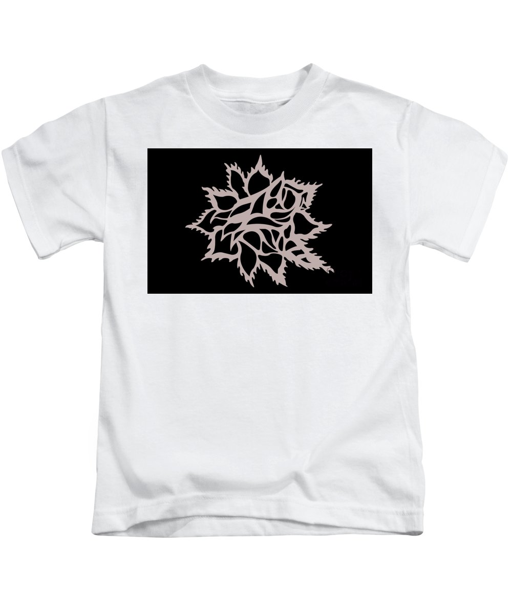 Kids T-Shirt featuring the digital art Untitled by Jamie Lynn