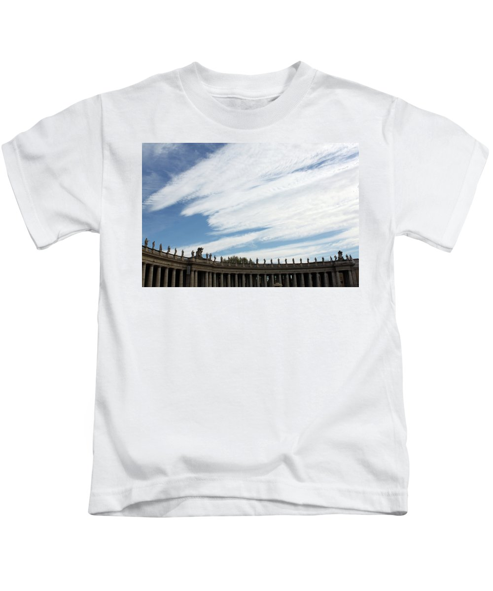 Rome Kids T-Shirt featuring the photograph Vatican by Munir Alawi